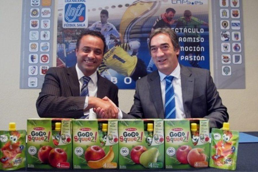 La LNFS tiene nuevo patrocinador: Gogo Squeez.