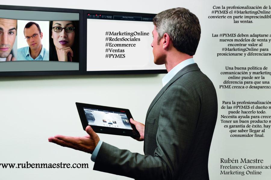 La profesionalización de las PYMES les acerca al marketing online