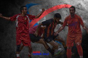 Imagen promoción de la liga de fútbol sala temporada 2017/2018