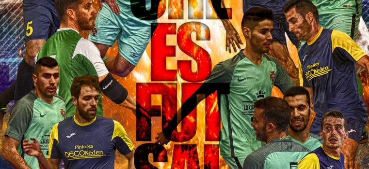 #ElcheEsFutsal – Imagen promoción partido liga fútbol sala de Elche