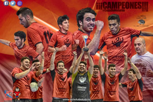 Ganadores torneo de Invierno de la liga de fútbol sala de Elche