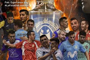 Imagen promoción del final de la liga de fútbol sala de Elche 2018