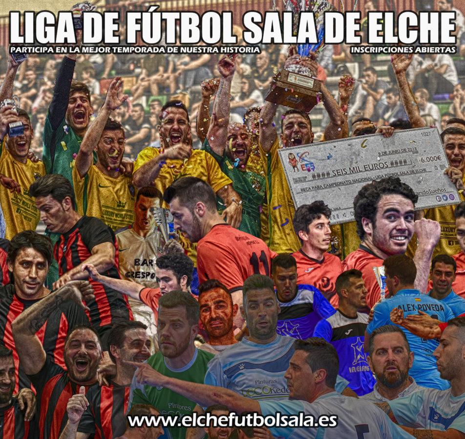 Imágenes promoción para la nueva temporada 18/19 de #LaLigaDeLos6000